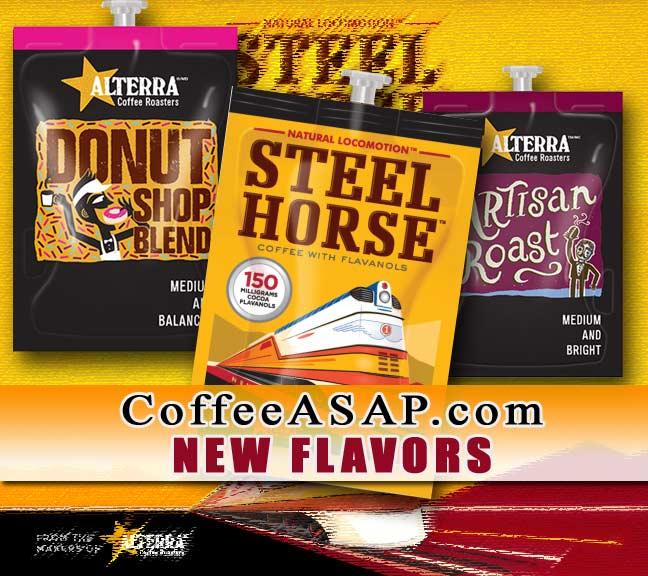 Alterra coffees for Flavia