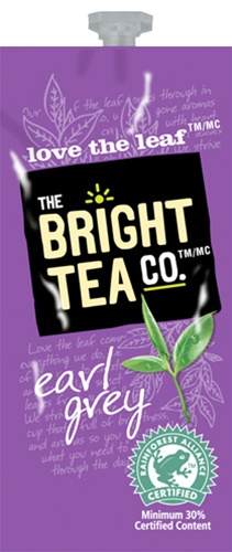 Bright Teas or Tazo Teas!  We have all the Flavia brewer tea filterpack options with same day shipping and huge discounts every day.  The Mars Drink Station is sure to satisfy the coffee & tea snobs you love! - Earl Grey Tea - B506