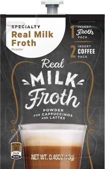 Indulgence Drink by Alterra - Real Milk Froth Powder