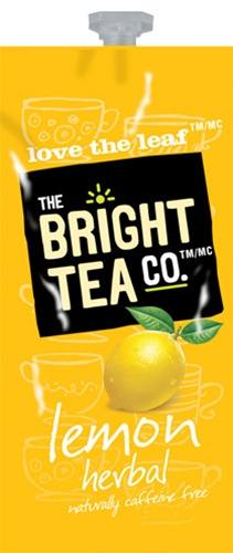 Bright Teas or Tazo Teas!  We have all the Flavia brewer tea filterpack options with same day shipping and huge discounts every day.  The Mars Drink Station is sure to satisfy the coffee & tea snobs you love! - Lemon Herbal Tea - B502