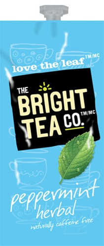 Bright Teas or Tazo Teas!  We have all the Flavia brewer tea filterpack options with same day shipping and huge discounts every day.  The Mars Drink Station is sure to satisfy the coffee & tea snobs you love! - Peppermint Herbal Tea - B505