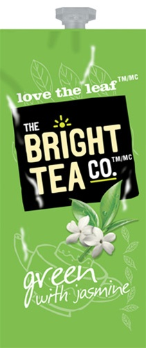 Bright Teas or Tazo Teas!  We have all the Flavia brewer tea filterpack options with same day shipping and huge discounts every day.  The Mars Drink Station is sure to satisfy the coffee & tea snobs you love! - Green with Jasmine Tea - B503