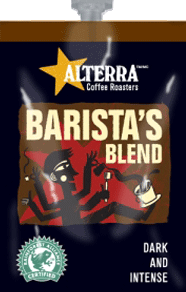 Alterra's Flavia Coffee - Barista's Blend