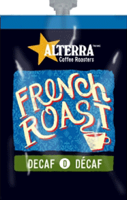 Alterra's Flavia Coffee - DECAF - French Roast