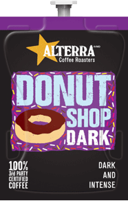 Alterra's Flavia Coffee - Donut Shop Dark