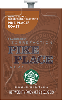 Alterra Coffees for Flavia Creation Drinks Station by Mars  €  Coffee lovers paradise of variety, easy use, & no coffee mess!  Experience all the benefits of coffee without the hassles with our full selection of Alterra Coffees filterpacks. - STARBUCKS® PIKE PLACE® ROAST - SX02