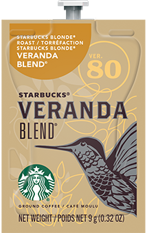 Alterra Coffees for Flavia Creation Drinks Station by Mars – Coffee lovers paradise of variety, easy use, & no coffee mess!  Experience all the benefits of coffee without the hassles with our full selection of Alterra Coffees filterpacks. - STARBUCKS® VERANDA BLEND® - SX01