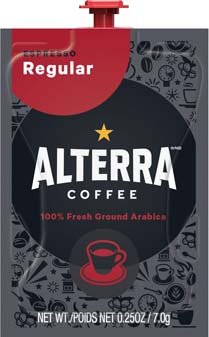 The Barista Espresso / Coffee Brewer is professional grade at it's best!  Get the best coffee house variety & excellence in one system with the Barista who's always ready for work. - * PAST DATE June 2018 * ALTERRA Espresso Freshpacks - A201