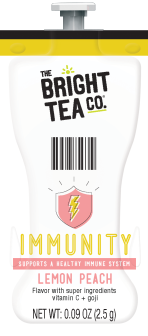 Bright Teas or Tazo Teas!  We have all the Flavia brewer tea filterpack options with same day shipping and huge discounts every day.  The Mars Drink Station is sure to satisfy the coffee & tea snobs you love! - Immunity Tea - B511