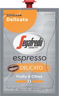 Espressos for the Flavia Barista Coffee & Espresso machine. - Segafredo® Espresso Delicato Freshpacks
