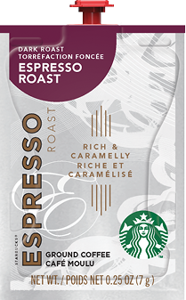The Barista Espresso / Coffee Brewer is professional grade at it's best!  Get the best coffee house variety & excellence in one system with the Barista who's always ready for work. - XO Starbucks Dark Espresso - SX04