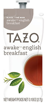 Flavia's Bright Tea - TAZO Awake English Breakfast Tea